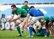 27 February 2021; James Ryan of Ireland during the Guinness Six Nations Rugby Championship match between Italy and Ireland at Stadio Olimpico in Rome, Italy. Photo by Roberto Bregani/Sportsfile