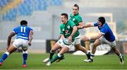 27 February 2021; Billy Burns of Ireland in action against Montanna Ioane and Carlo Canna of Italy during the Guinness Six Nations Rugby Championship match between Italy and Ireland at Stadio Olimpico in Rome, Italy. Photo by Roberto Bregani/Sportsfile