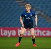 28 February 2021; Jamie Osborne of Leinster during the Guinness PRO14 match between Leinster and Glasgow Warriors at the RDS Arena in Dublin. Photo by Ramsey Cardy/Sportsfile