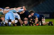 28 February 2021; Alex Soroka of Leinster during the Guinness PRO14 match between Leinster and Glasgow Warriors at the RDS Arena in Dublin. Photo by Ramsey Cardy/Sportsfile