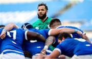 27 February 2021; Jamison Gibson-Park of Ireland during the Guinness Six Nations Rugby Championship match between Italy and Ireland at Stadio Olimpico in Rome, Italy. Photo by Roberto Bregani/Sportsfile