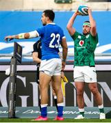 27 February 2021; Rob Herring of Ireland during the Guinness Six Nations Rugby Championship match between Italy and Ireland at Stadio Olimpico in Rome, Italy. Photo by Roberto Bregani/Sportsfile