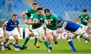 27 February 2021; Jack Conan of Ireland is tackled by Niccolò Cannone of Italy during the Guinness Six Nations Rugby Championship match between Italy and Ireland at Stadio Olimpico in Rome, Italy. Photo by Roberto Bregani/Sportsfile