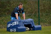 2 March 2021; Ed Byrne during Leinster Rugby squad training at UCD in Dublin. Photo by Ramsey Cardy/Sportsfile