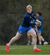 2 March 2021; Jamie Osborne during Leinster Rugby squad training at UCD in Dublin. Photo by Ramsey Cardy/Sportsfile