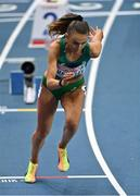5 March 2021; Sharlene Mawdsley of Ireland competes in the Women's 400m heats during the first session on day one of the European Indoor Athletics Championships at Arena Torun in Torun, Poland. Photo by Sam Barnes/Sportsfile