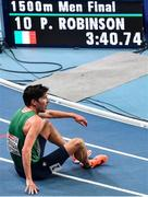 5 March 2021; Paul Robinson of Ireland after finishing in 10th place in the Men's 1500m final during the second session on day one of the European Indoor Athletics Championships at Arena Torun in Torun, Poland. Photo by Sam Barnes/Sportsfile