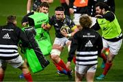 5 March 2021; Billy Holland of Munster prior to the Guinness PRO14 match between Munster and Connacht at Thomond Park in Limerick. Photo by Ramsey Cardy/Sportsfile