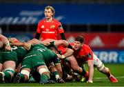5 March 2021; Jack O'Donoghue of Munster during the Guinness PRO14 match between Munster and Connacht at Thomond Park in Limerick. Photo by Ramsey Cardy/Sportsfile