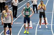 6 March 2021; Mark English of Ireland prior to the Men's 800m semi-final during the second session on day two of the European Indoor Athletics Championships at Arena Torun in Torun, Poland. Photo by Sam Barnes/Sportsfile
