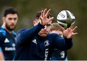 8 March 2021; Peter Dooley during Leinster Rugby squad training at UCD in Dublin. Photo by Ramsey Cardy/Sportsfile
