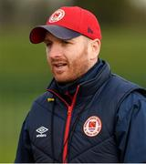 6 March 2021; St Patrick's Athletic head coach Stephen O'Donnell during the Pre-Season Friendly match between St Patrick's Athletic and Cobh Ramblers at the FAI National Training Centre in Abbotstown, Dublin. Photo by Matt Browne/Sportsfile
