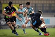 12 March 2021; Harry Byrne of Leinster during the Guinness PRO14 match between Zebre and Leinster at Stadio Sergio Lanfranchi in Parma, Italy. Photo by Roberto Bregani/Sportsfile