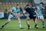 12 March 2021; Ross Molony, left, and Tom Clarkson of Leinster during the Guinness PRO14 match between Zebre and Leinster at Stadio Sergio Lanfranchi in Parma, Italy. Photo by Roberto Bregani/Sportsfile