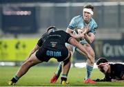 12 March 2021; Rory O'Loughlin of Leinster during the Guinness PRO14 match between Zebre and Leinster at Stadio Sergio Lanfranchi in Parma, Italy. Photo by Roberto Bregani/Sportsfile