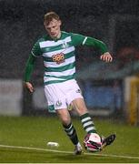 12 March 2021; Liam Scales of Shamrock Rovers during the FAI President's Cup Final match between Shamrock Rovers and Dundalk at Tallaght Stadium in Dublin. Photo by Stephen McCarthy/Sportsfile