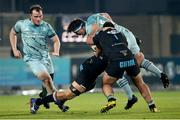 12 March 2021; Tom Clarkson of Leinster during the Guinness PRO14 match between Zebre and Leinster at Stadio Sergio Lanfranchi in Parma, Italy. Photo by Roberto Bregani/Sportsfile