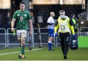 14 March 2021; James Ryan of Ireland leaves the field for a Head Injury Assesment during the Guinness Six Nations Rugby Championship match between Scotland and Ireland at BT Murrayfield Stadium in Edinburgh, Scotland. Photo by Paul Devlin/Sportsfile