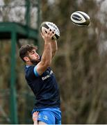 15 March 2021; Caelan Doris during Leinster Rugby Squad Training at UCD in Dublin.  Photo by Ramsey Cardy/Sportsfile