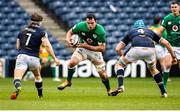 14 March 2021; James Ryan of Ireland in action against Hamish Watson and Scott Cummings of Scotland during the Guinness Six Nations Rugby Championship match between Scotland and Ireland at BT Murrayfield Stadium in Edinburgh, Scotland. Photo by Paul Devlin/Sportsfile