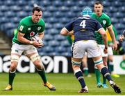 14 March 2021; James Ryan of Ireland in action against Scott Cummings of Scotland during the Guinness Six Nations Rugby Championship match between Scotland and Ireland at BT Murrayfield Stadium in Edinburgh, Scotland. Photo by Paul Devlin/Sportsfile