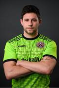 16 March 2021; Goalkeeper Stephen McGuinness during a Bohemians portrait session ahead of the 2021 SSE Airtricity League Premier Division season at DCU in Dublin. Photo by Stephen McCarthy/Sportsfile