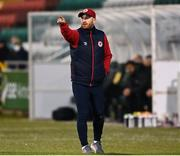 19 March 2021; St Patrick's Athletic head coach Stephen O'Donnell during the SSE Airtricity League Premier Division match between Shamrock Rovers and St Patrick's Athletic at Tallaght Stadium in Dublin. Photo by Harry Murphy/Sportsfile