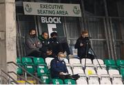 19 March 2021; Robbie Keane, left, during the SSE Airtricity League Premier Division match between Shamrock Rovers and St Patrick's Athletic at Tallaght Stadium in Dublin. Photo by Stephen McCarthy/Sportsfile