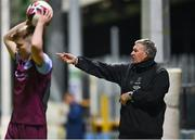 19 March 2021; Waterford manager Kevin Sheedy during the SSE Airtricity League Premier Division match between Drogheda United and Waterford at Head In The Game Park in Drogheda, Louth. Photo by Seb Daly/Sportsfile