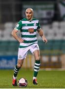 19 March 2021; Joey O'Brien of Shamrock Rovers during the SSE Airtricity League Premier Division match between Shamrock Rovers and St Patrick's Athletic at Tallaght Stadium in Dublin. Photo by Harry Murphy/Sportsfile