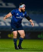 19 March 2021; Michael Bent of Leinster during the Guinness PRO14 match between Leinster and Ospreys at RDS Arena in Dublin. Photo by Brendan Moran/Sportsfile