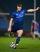 19 March 2021; Ciarán Frawley of Leinster during the Guinness PRO14 match between Leinster and Ospreys at RDS Arena in Dublin. Photo by Brendan Moran/Sportsfile