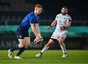 19 March 2021; Ciarán Frawley of Leinster during the Guinness PRO14 match between Leinster and Ospreys at RDS Arena in Dublin. Photo by Piaras Ó Mídheach/Sportsfile