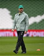 20 March 2021; Ireland assistant coach Mike Catt prior to the Guinness Six Nations Rugby Championship match between Ireland and England at the Aviva Stadium in Dublin. Photo by Ramsey Cardy/Sportsfile