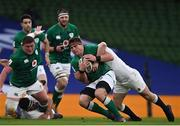 20 March 2021; CJ Stander of Ireland during the Guinness Six Nations Rugby Championship match between Ireland and England at the Aviva Stadium in Dublin. Photo by Ramsey Cardy/Sportsfile