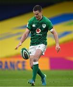 20 March 2021; Jonathan Sexton of Ireland during the Guinness Six Nations Rugby Championship match between Ireland and England at the Aviva Stadium in Dublin. Photo by Ramsey Cardy/Sportsfile