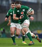 20 March 2021; Iain Henderson of Ireland during the Guinness Six Nations Rugby Championship match between Ireland and England at Aviva Stadium in Dublin. Photo by Brendan Moran/Sportsfile