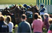 21 March 2021; Runners and riders leave the stalls for the start of the Paddy Power Madrid Handicap at The Curragh Racecourse in Kildare. Photo by Seb Daly/Sportsfile