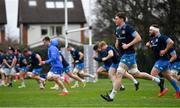 22 March 2021; Ryan Baird during Leinster Rugby squad training at UCD in Dublin. Photo by Ramsey Cardy/Sportsfile