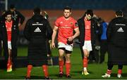 27 March 2021; CJ Stander of Munster, centre, after receiving his runners up medal following the Guinness PRO14 Final match between Leinster and Munster at the RDS Arena in Dublin. Photo by David Fitzgerald/Sportsfile