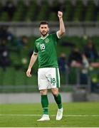 27 March 2021; Shane Long of Republic of Ireland during the FIFA World Cup 2022 qualifying group A match between Republic of Ireland and Luxembourg at the Aviva Stadium in Dublin. Photo by Seb Daly/Sportsfile