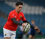 27 March 2021; Joey Carbery of Munster during the Guinness PRO14 Final match between Leinster and Munster at the RDS Arena in Dublin. Photo by Brendan Moran/Sportsfile