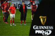 27 March 2021; Keith Earls and Peter O'Mahony of Munster after during the Guinness PRO14 Final match between Leinster and Munster at the RDS Arena in Dublin. Photo by Brendan Moran/Sportsfile