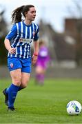 27 March 2021; Eve O'Sullivan of Treaty United during the SSE Airtricity Women's National League match between Bohemians and Treaty United at Oscar Traynor Centre in Coolock, Dublin. Photo by Piaras Ó Mídheach/Sportsfile
