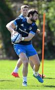 29 March 2021; Robbie Henshaw during Leinster Rugby squad training at UCD in Dublin. Photo by Ramsey Cardy/Sportsfile