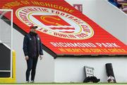 27 March 2021; St Patrick's Athletic head coach Stephen O'Donnell during the SSE Airtricity League Premier Division match between St Patrick's Athletic and Drogheda United at Richmond Park in Dublin. Photo by Matt Browne/Sportsfile