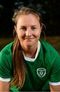 5 April 2021; Republic of Ireland's Kyra Carusa poses for a portrait. Photo by Stephen McCarthy/Sportsfile