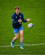 1 April 2021; Josh van der Flier during the Leinster Rugby captains run at the RDS Arena in Dublin. Photo by Ramsey Cardy/Sportsfile