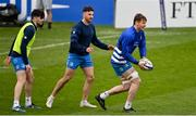 1 April 2021; Ryan Baird during the Leinster Rugby captains run at the RDS Arena in Dublin. Photo by Ramsey Cardy/Sportsfile
