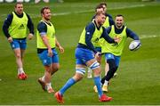 1 April 2021; Ross Molony during the Leinster Rugby captains run at the RDS Arena in Dublin. Photo by Ramsey Cardy/Sportsfile